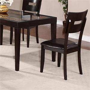 Holland House Townhouse Upholstered Seat Dining Side Chair