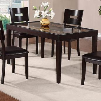 dining table with insert granite holland house townhouse rectangular dining table with glass top insert