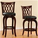 Homelegance 1133 Swivel Barstool - Also Available as a Counter Stool