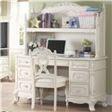 Homelegance 1386 Youth Victorian Desk - Desk Shown with Hutch and Chair