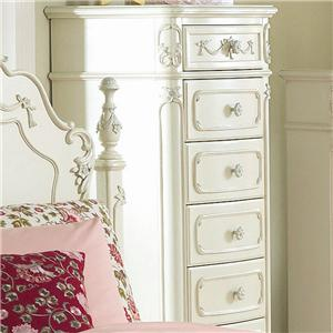 Homelegance 1386 Tall Chest