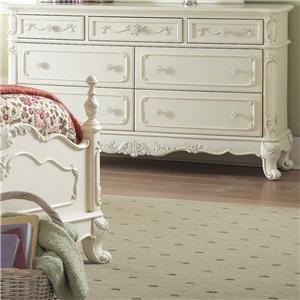 Homelegance 1386 Victorian Dresser