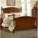 Homelegance 1422 Queen Headboard & Footboard Bed - Item Number: 1422-1+2+3