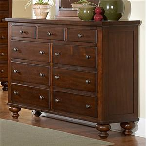 Homelegance 1422 9 Drawer Dresser