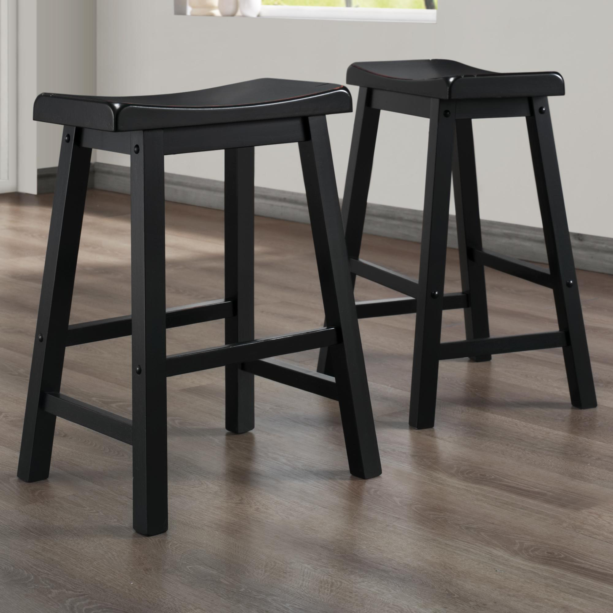 Homelegance 5302 24 Inch Stool - Item Number: 5302BK24