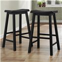 Homelegance 5302 29 Inch Stool - Item Number: 5302BK29