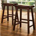 Homelegance Furniture 5302 24 Inch Stool - Item Number: 5302C24