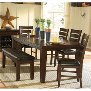 Homelegance 586 Six Piece Dining Set