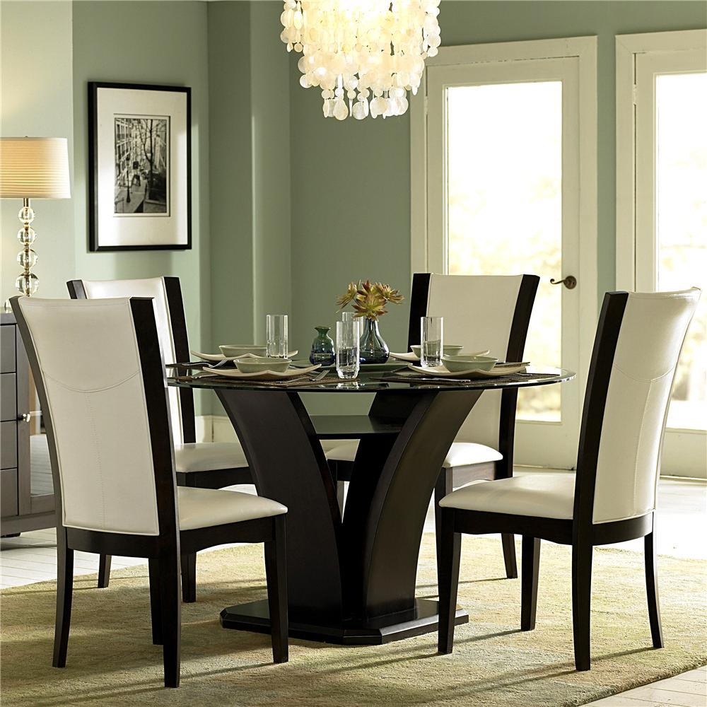 Homelegance 710 5 Piece Semi-Formal Dining Set - Item Number: 710-54+4XWS