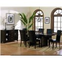Homelegance 710 Parson Side Chair - Shown With Server and Trestle Table