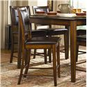 Homelegance Verona X Back Counter Stool With Faux Leather Back And Seat Darvin Furniture Bar
