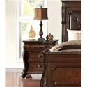 Home Insights B2161 Vintage Nightstand - Item Number: B2161-81 NIGHTSTAND