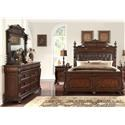 Home Insights B2161 King Bedroom Group - Item Number: B261 King B + D+ M + NS