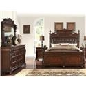 Home Insights Vintage 5 Piece Genevieve Bed Group - Item Number: B2161 Group
