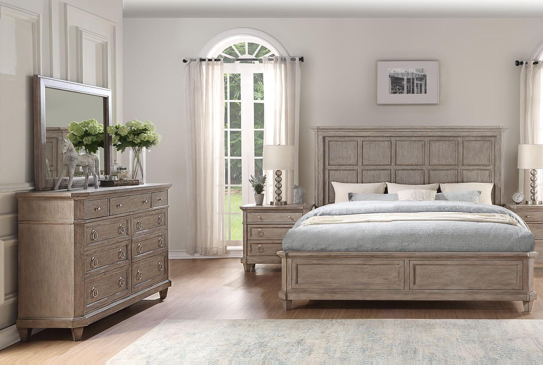 Home Insights Newport Queen Bedroom Group - Item Number: GRP-B217-QUEENSUITE