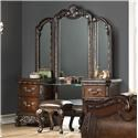 Home Insights Bali Vanity With Triple Mirror - Item Number: B003-72L+72MR+72R