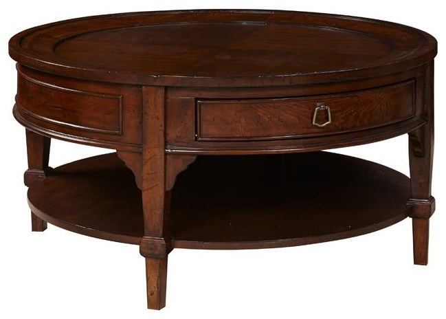 Home Insights Sinclair Round Cocktail Table - Item Number: C106-06