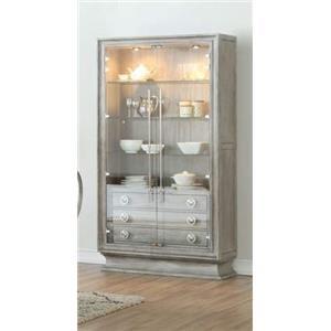 Bunching Display Curio Cabinet