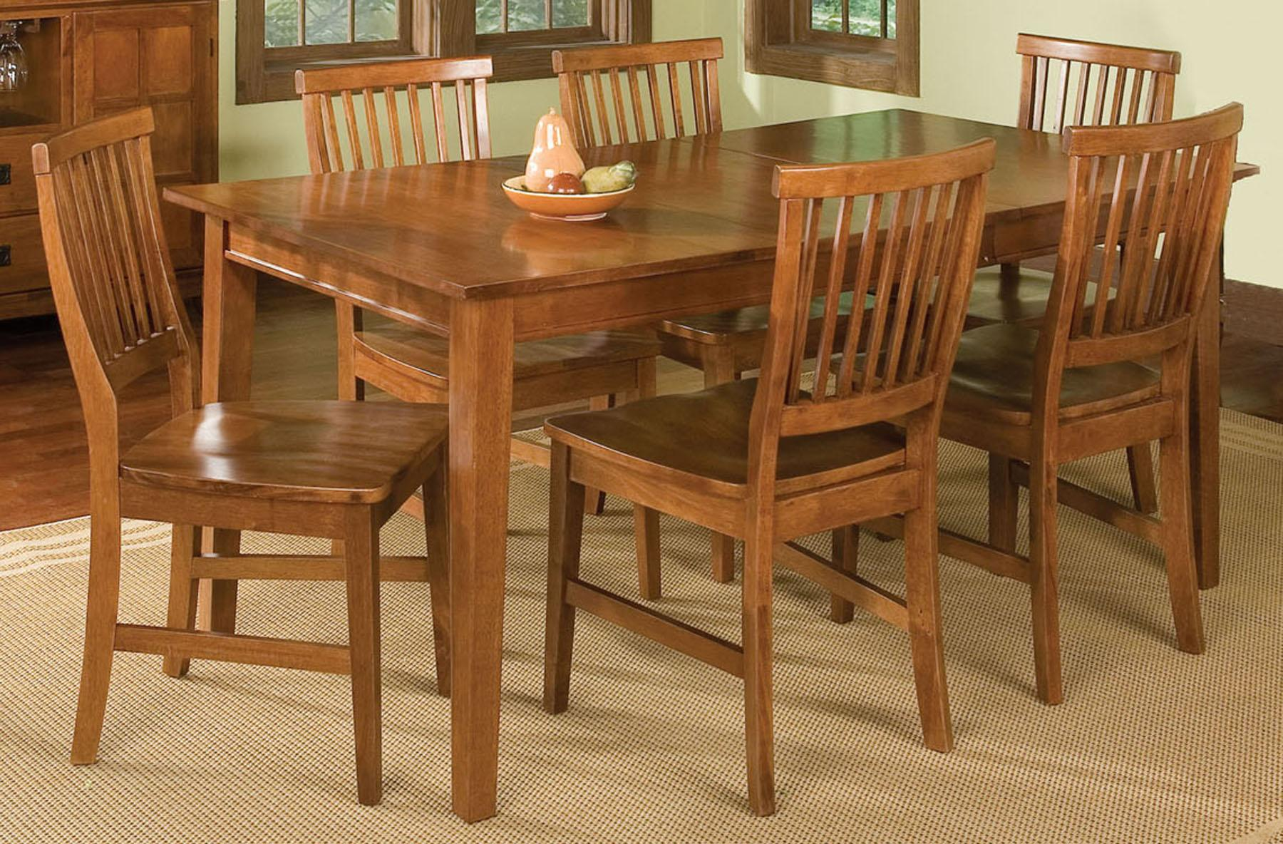 Home Styles Arts And Crafts 7 Piece Rectangular Top Table And Side Chairs  Dining Set   AHFA   Dining 7 (or More) Piece Set Dealer Locator