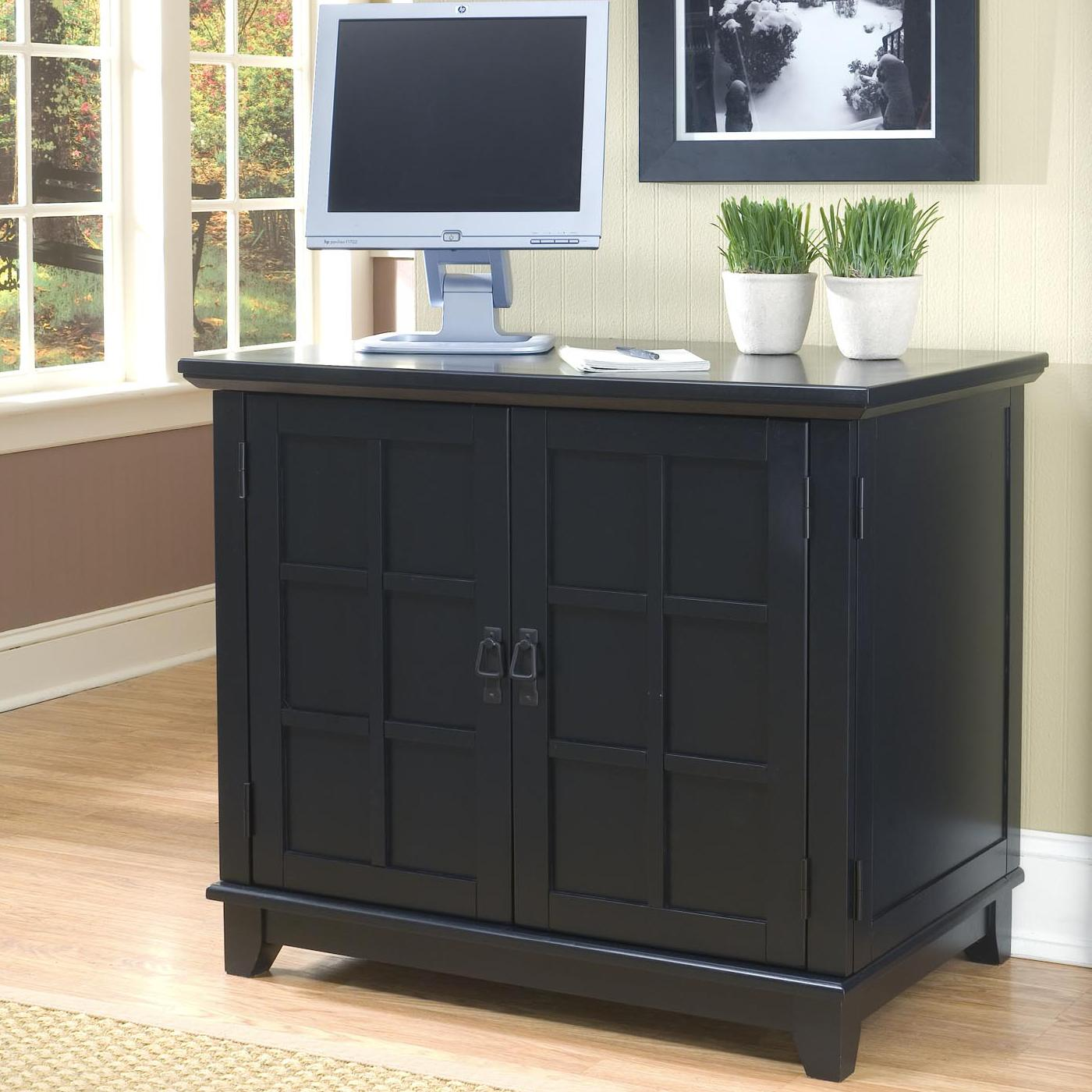 Arts And Crafts 2 Door Compact Office Cabinet By Home Styles