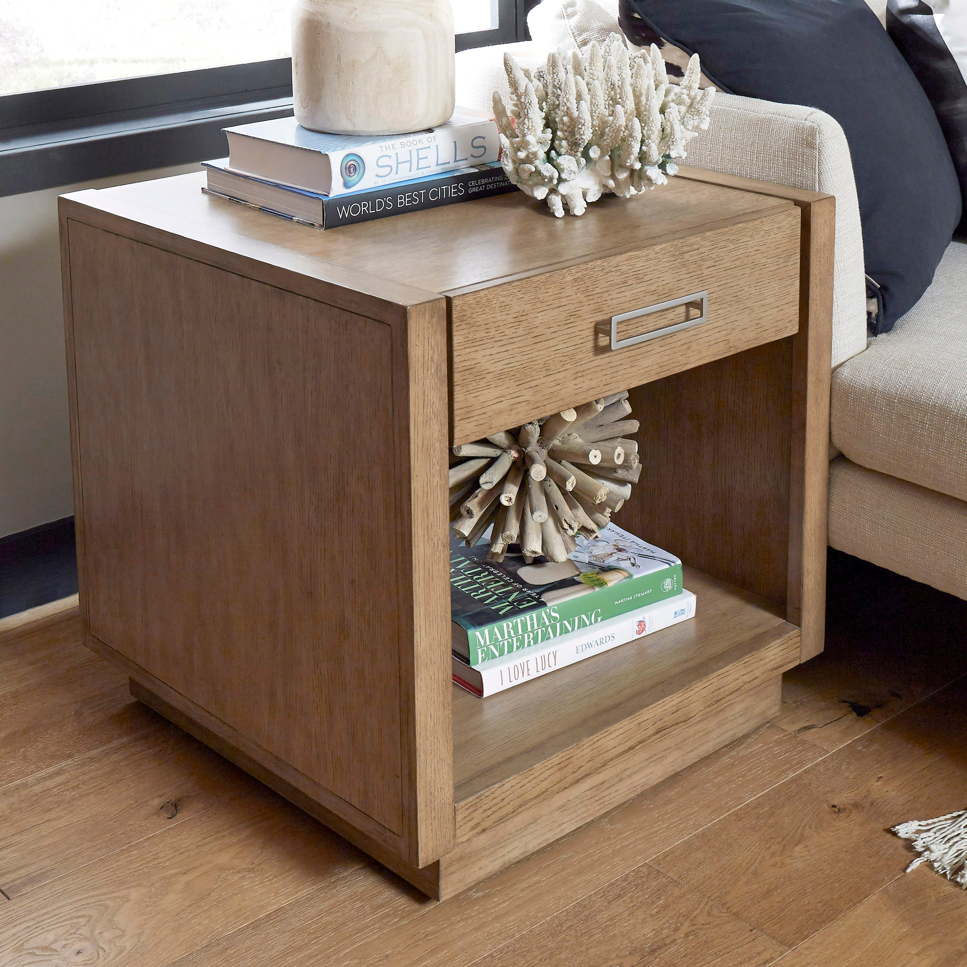 Big Sur End Table by Homestyles at Value City Furniture