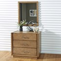 Homestyles Big Sur Chest and Mirror - Item Number: 5506-71