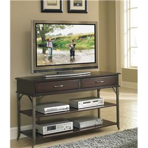 Bordeaux Media TV Stand