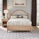 Homestyles Cambridge Queen Bed & Nightstand - Item Number: 5170-5020