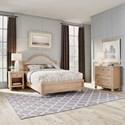Homestyles Cambridge Queen Bed, Nightstand & Chest - Item Number: 5170-5021