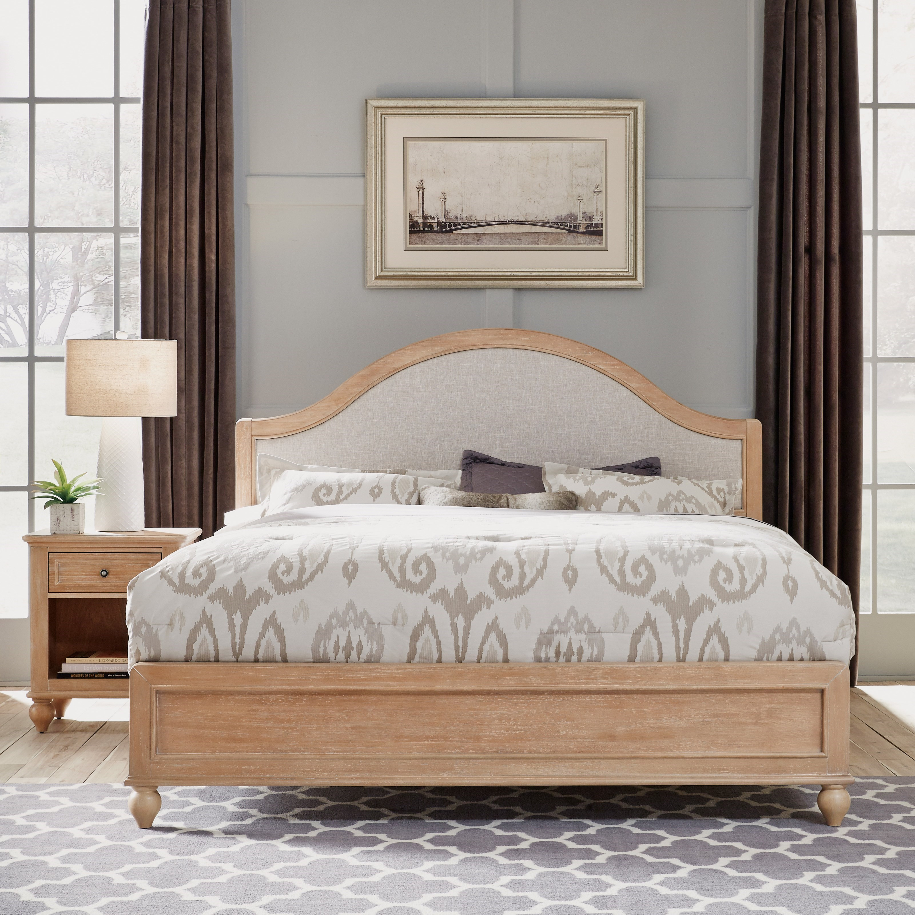 King Bed &  Nightstand