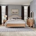 Homestyles Cambridge King Bed, Nightstand, Dresser & Mirror - Item Number: 5170-6023