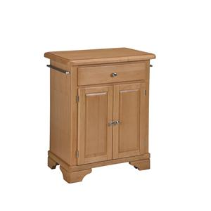 Home Styles Premier Create-a-Cart Wood Top Cuisine Cart