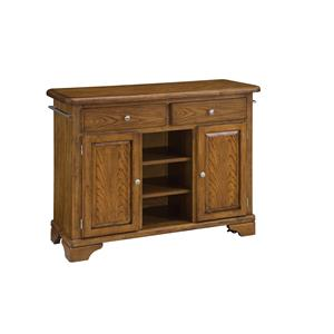 Home Styles Premier Create-a-Cart Wood Top Kitchen Cart