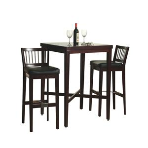 Home Styles Dining 3-Piece Pub Table Set