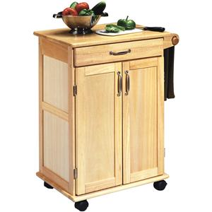 Paneled Door Kitchen Cart
