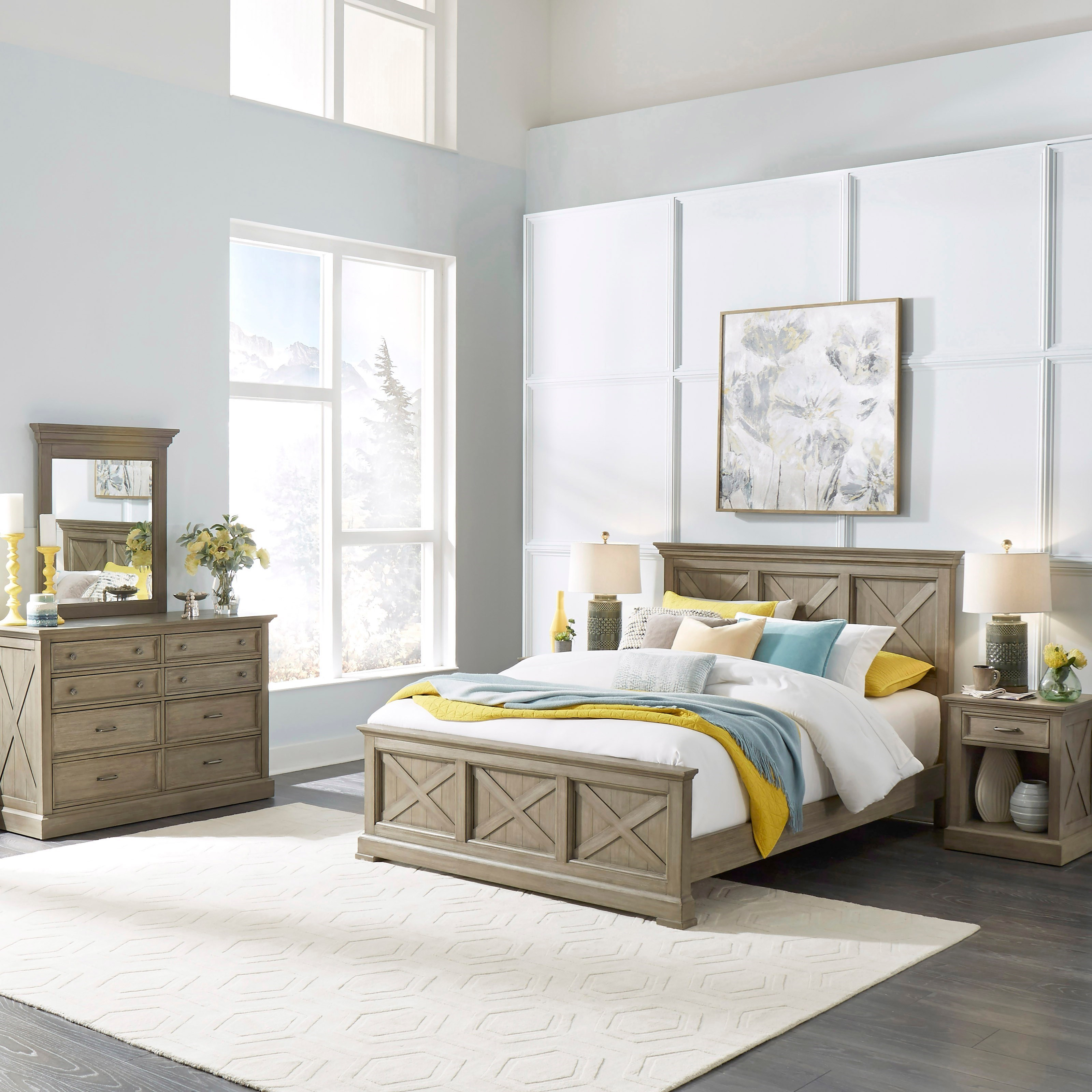 Mountain Lodge Queen Bedroom Group by Homestyles at Northeast Factory Direct