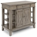 Homestyles Mountain Lodge Kitchen Island - Item Number: 5525-93