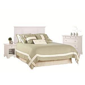 Queen Headboard, Nightstand, and Chest