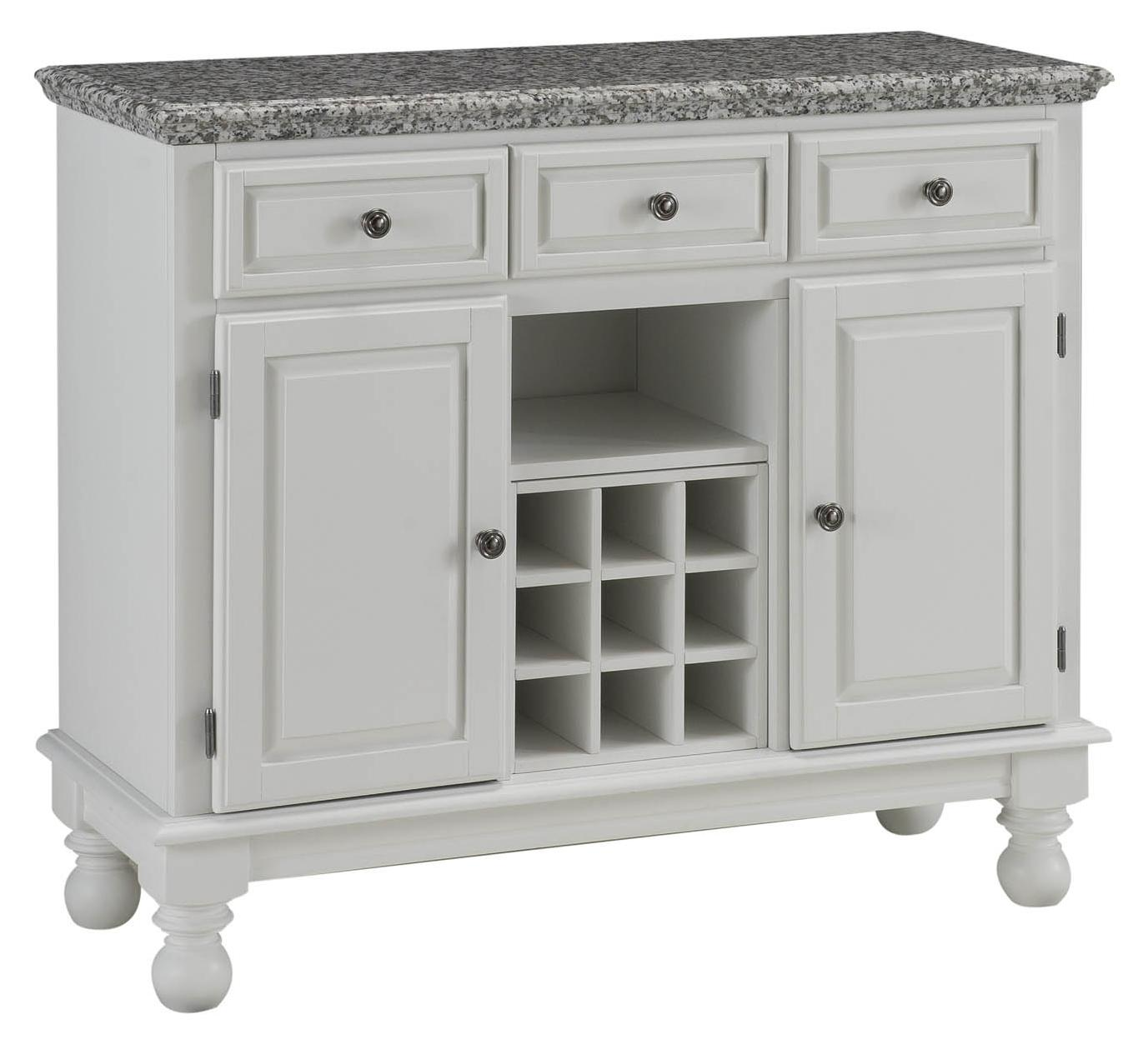 Superb Premier Buffet Of Buffets Server With Grey Granite Top By Home Styles