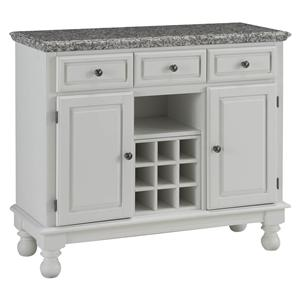 Home Styles Premier Buffet of Buffets Server with Grey Granite Top