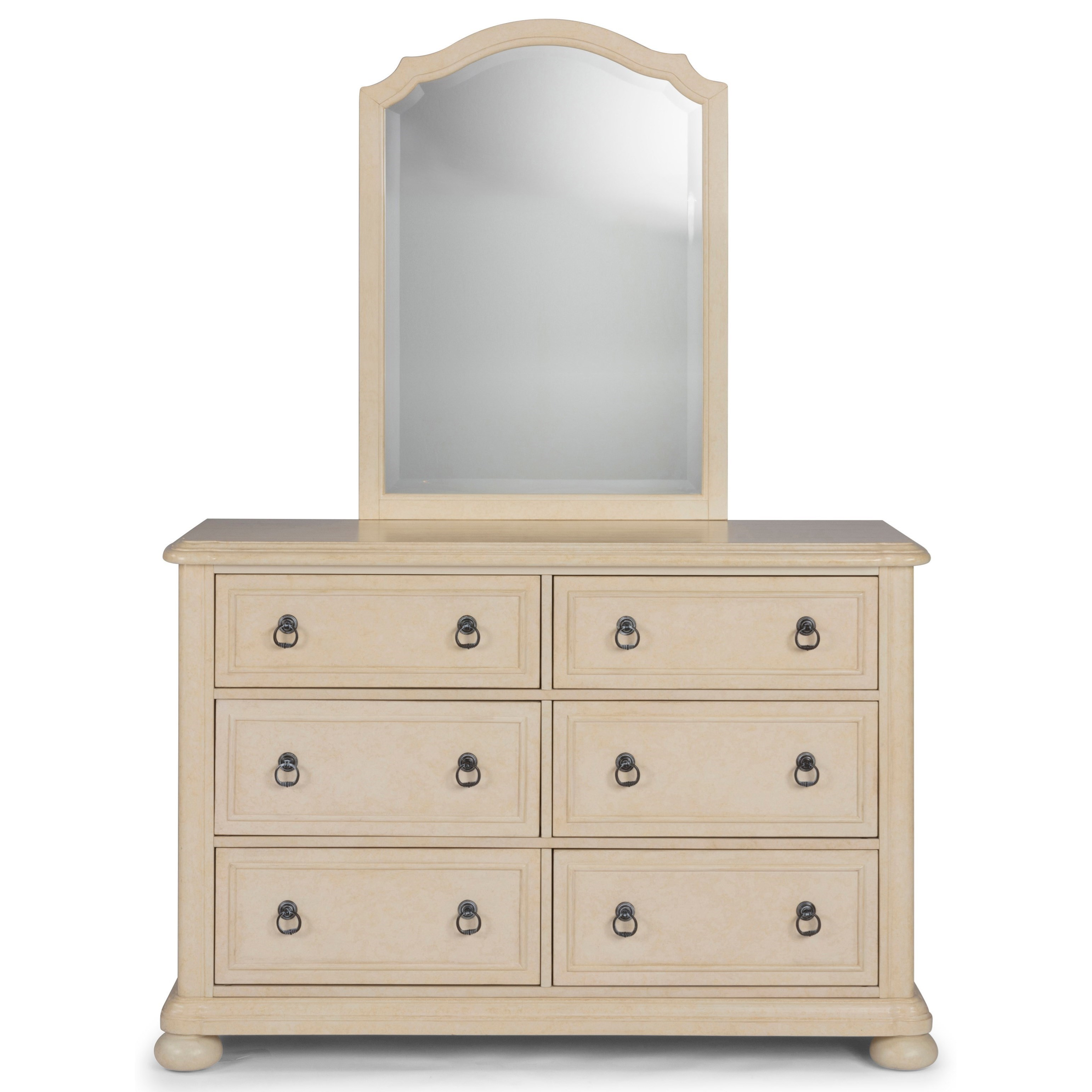 Provence Dresser & Mirror by Homestyles at Northeast Factory Direct
