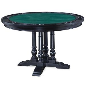 Saint Croix Dining/Game Table with Cup Holders and Felt Game Surface by Home Styles