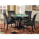 Home Styles Saint Croix Dining/Game Table with Cup Holders and Felt Game Surface - 5901-36 - Alternate View