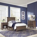 Homestyles Southport Twin Bedroom Group - Item Number: 5503-4021