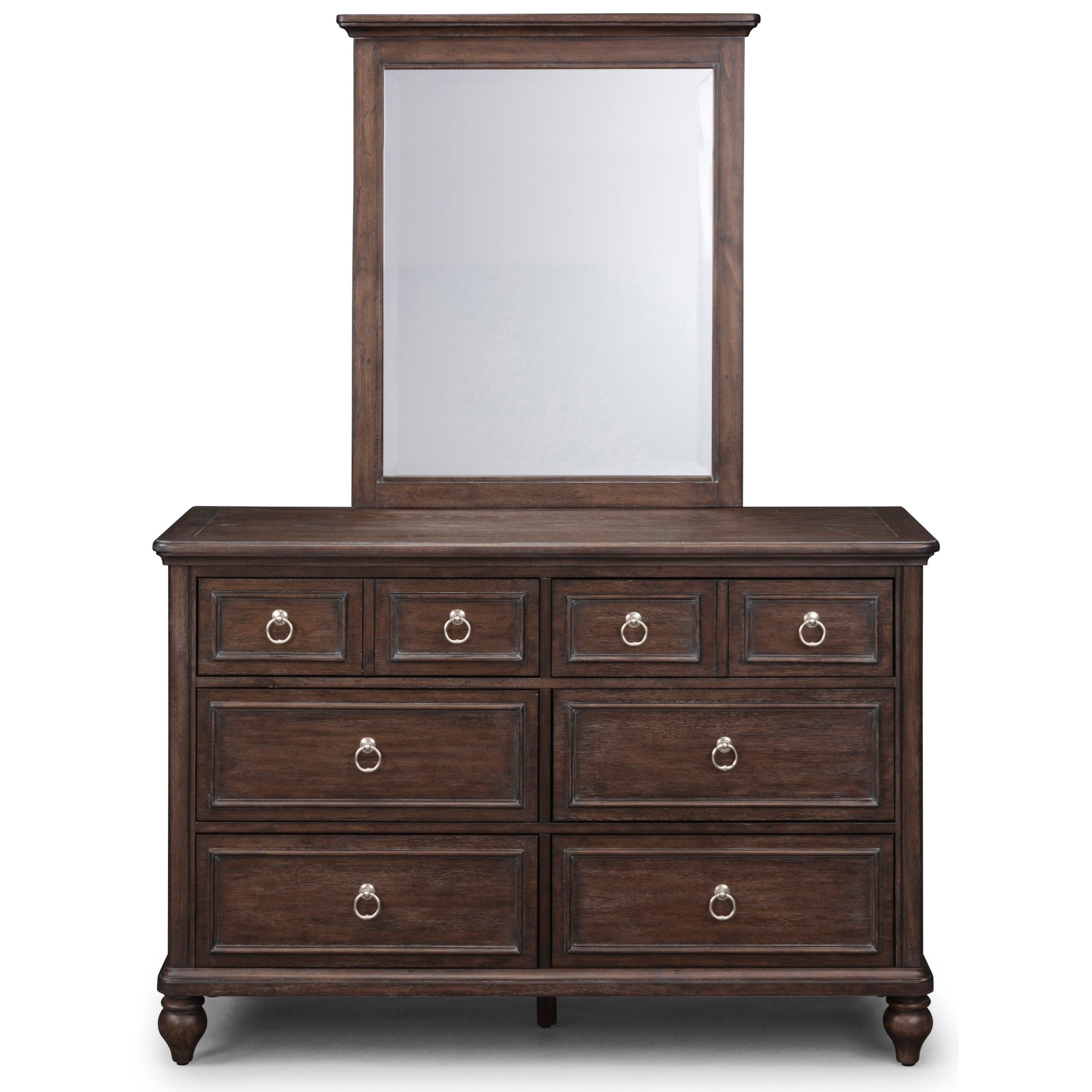 Southport Dresser and Mirror Set by Homestyles at Northeast Factory Direct