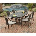 Home Styles Stone Harbor 7-Piece Patio Dining Set - Item Number: 5601-338