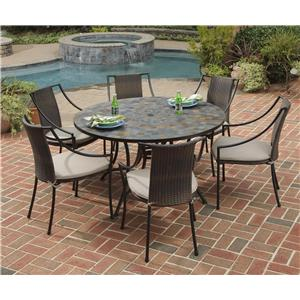 Home Styles Stone Harbor 7-Piece Patio Dining Set