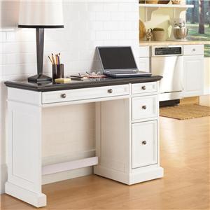 Utility Desk with Black Granite Top