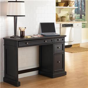 Utility Desk with Wood Top
