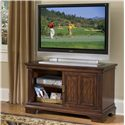 Home Styles Windsor HS Entertainment Console - 5541-09 - Cabinet Opened